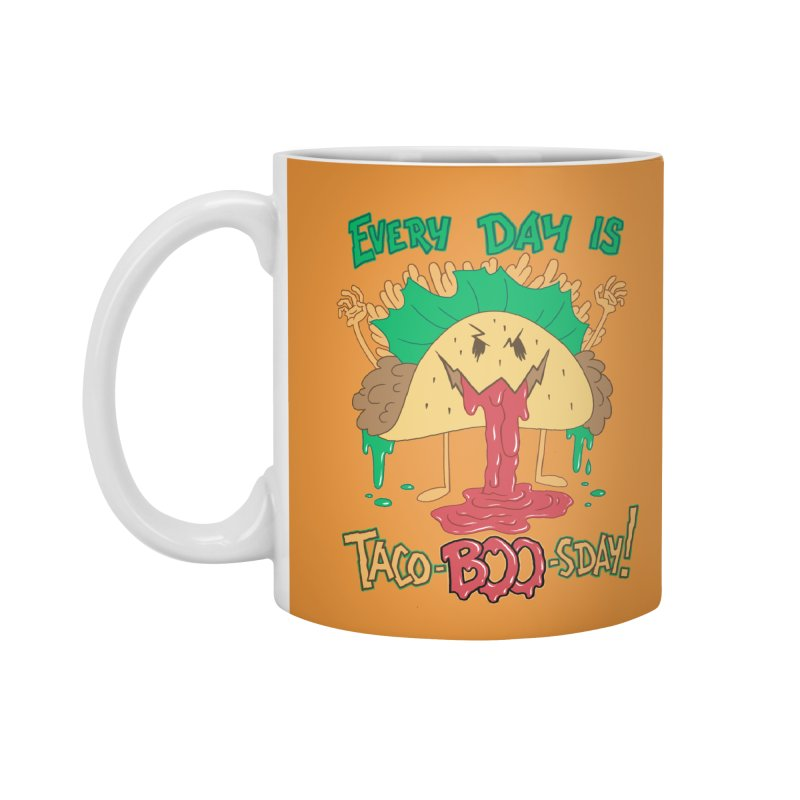 Every Day is Taco-BOO-sday! Accessories Standard Mug by Frankenstein's Artist Shop