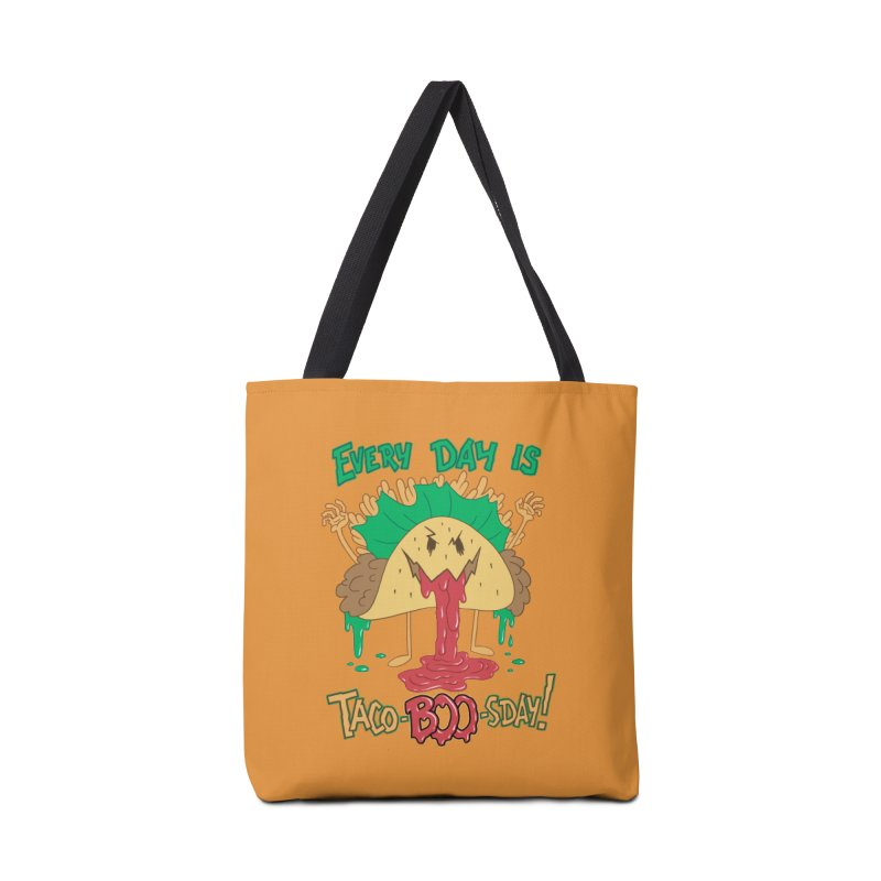 Every Day is Taco-BOO-sday! Accessories Bag by Frankenstein's Artist Shop