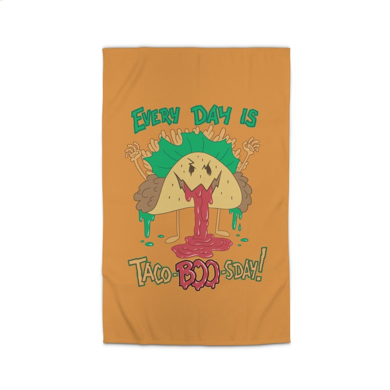 Every Day is Taco-BOO-sday! Home Rug by Frankenstein's Artist Shop