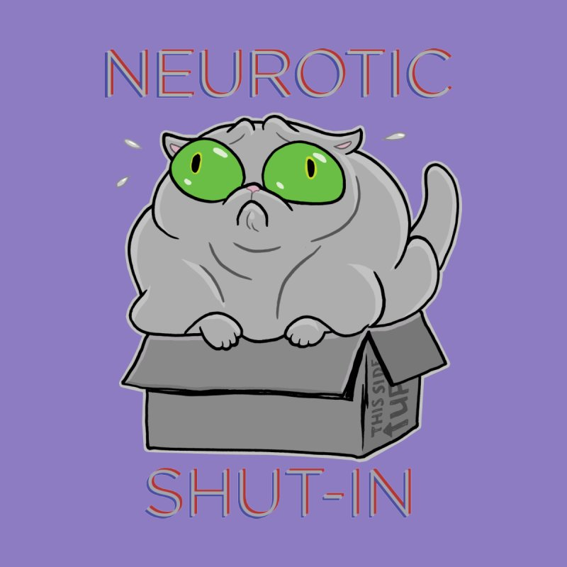 Neurotic Shut-In by Frankenstein's Artist Shop