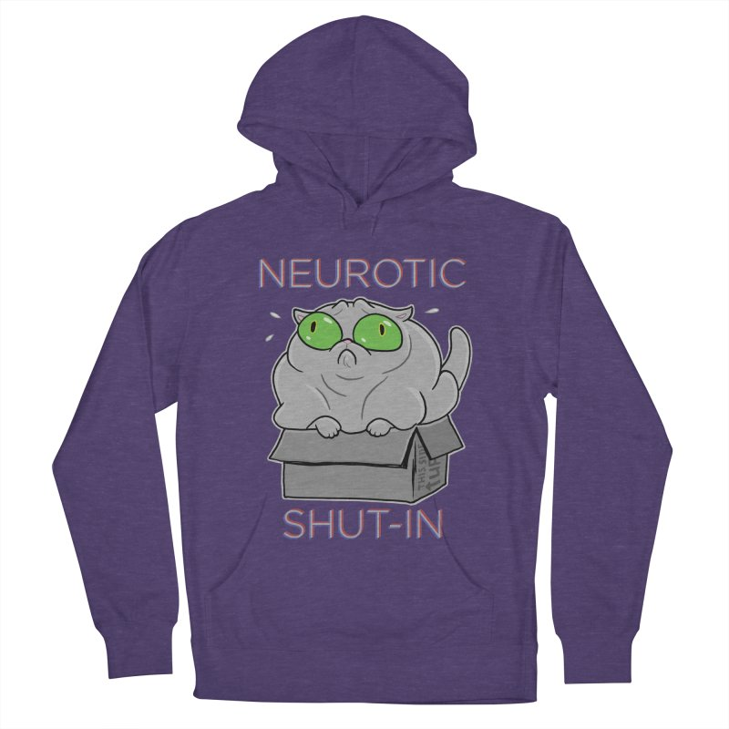 Neurotic Shut-In Women's French Terry Pullover Hoody by Frankenstein's Artist Shop