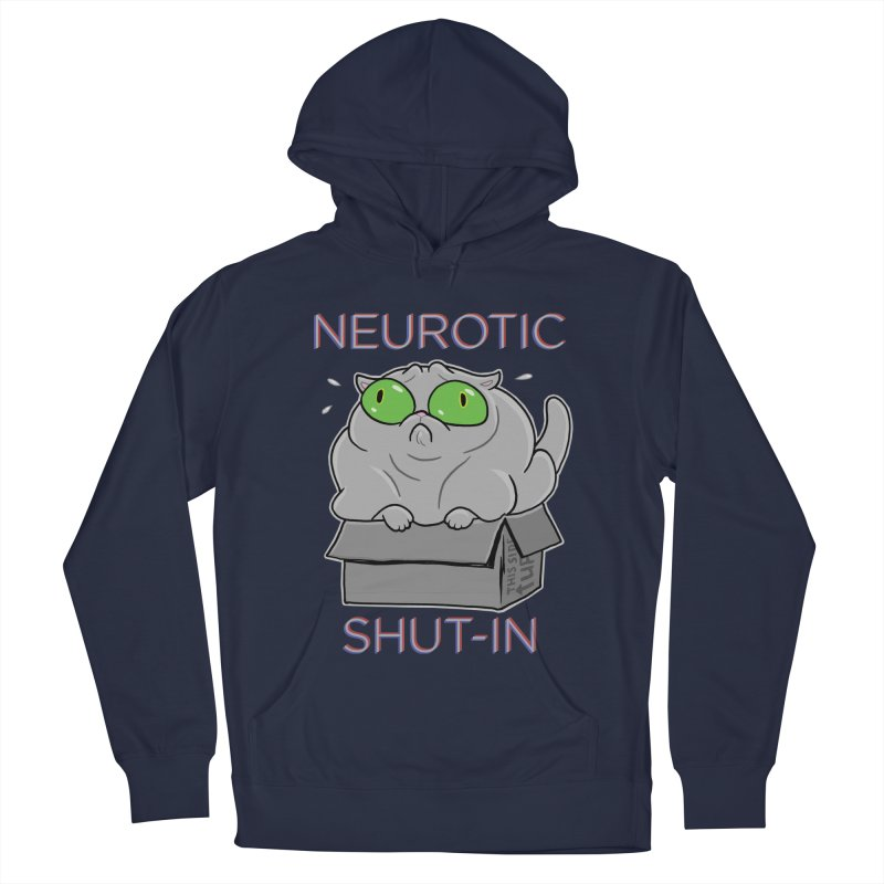 Neurotic Shut-In Women's Pullover Hoody by Frankenstein's Artist Shop