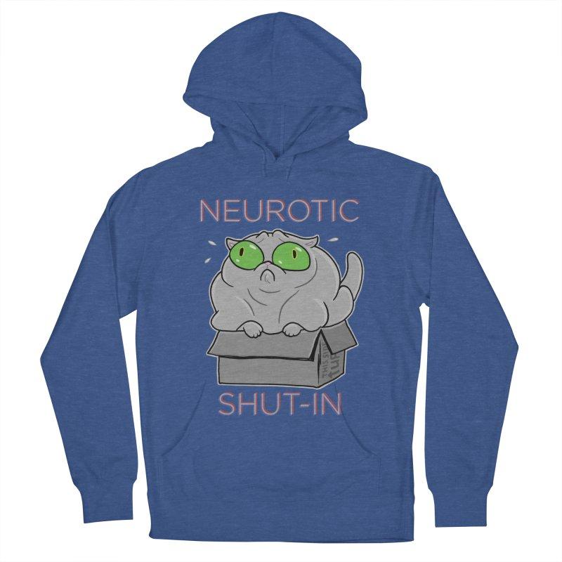 Neurotic Shut-In Men's Pullover Hoody by Frankenstein's Artist Shop