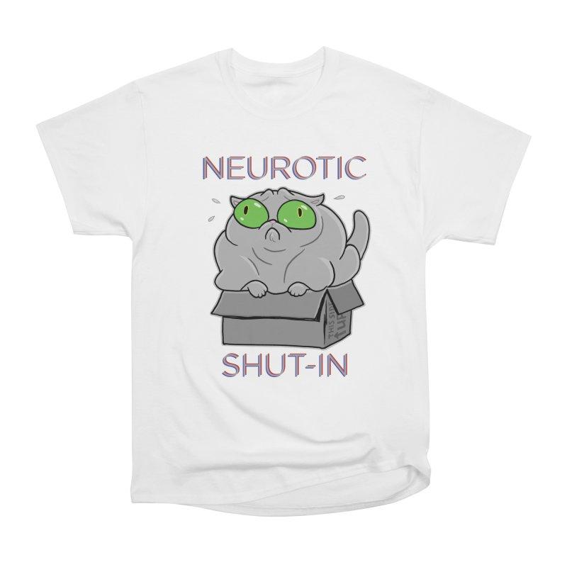 Neurotic Shut-In Men's Classic T-Shirt by Frankenstein's Artist Shop