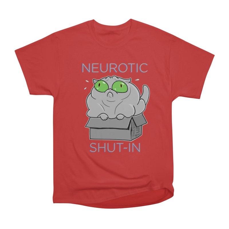 Neurotic Shut-In Men's Heavyweight T-Shirt by Frankenstein's Artist Shop