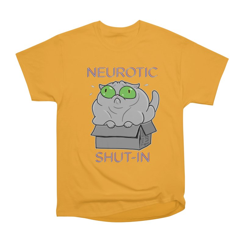 Neurotic Shut-In Women's Classic Unisex T-Shirt by Frankenstein's Artist Shop