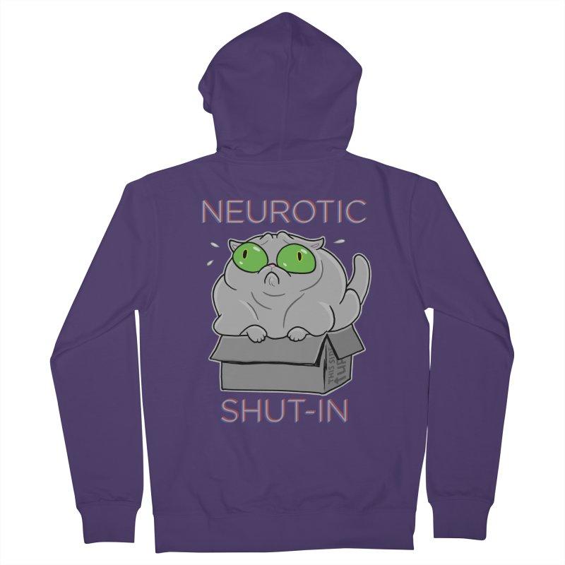 Neurotic Shut-In Women's Zip-Up Hoody by Frankenstein's Artist Shop