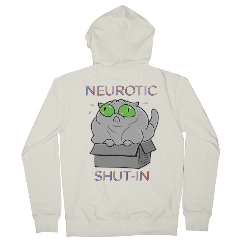 Neurotic Shut-In Women's Zip-Up Hoody by Frankenstein's Artist Shop