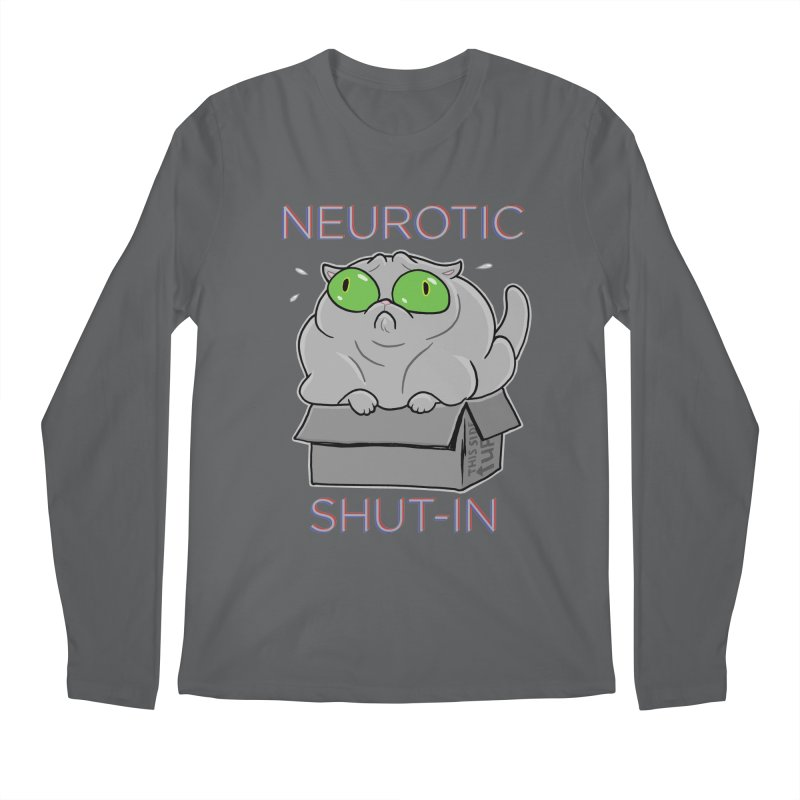 Neurotic Shut-In Men's Regular Longsleeve T-Shirt by Frankenstein's Artist Shop