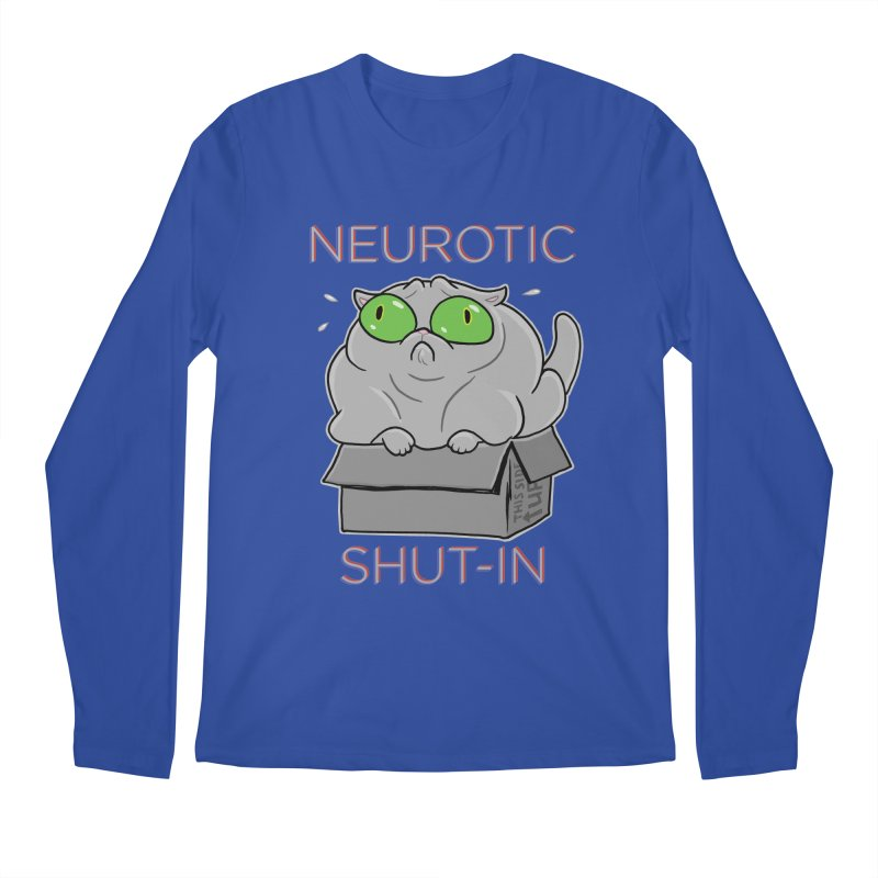 Neurotic Shut-In Men's Regular Longsleeve T-Shirt by Frankenstein's Artist Shop