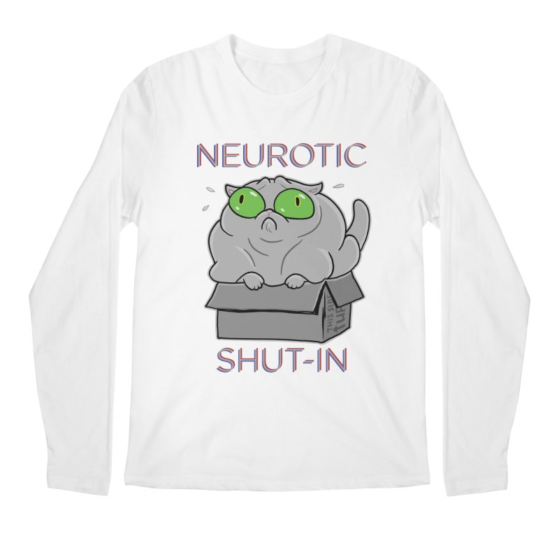 Neurotic Shut-In Men's Longsleeve T-Shirt by Frankenstein's Artist Shop