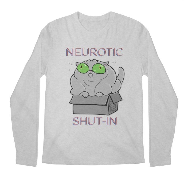Neurotic Shut-In Men's Longsleeve T-Shirt by Frankenstein's Artist Shop