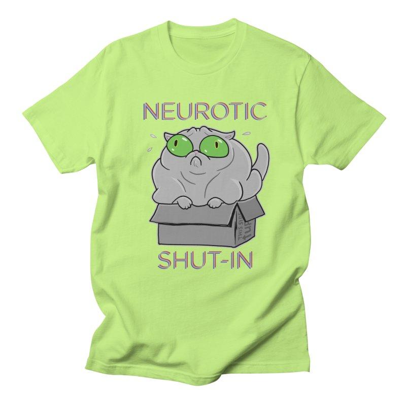 Neurotic Shut-In Women's Unisex T-Shirt by Frankenstein's Artist Shop