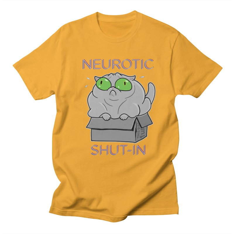 Neurotic Shut-In Women's Unisex T-Shirt by Frankenstein's Artist Shop