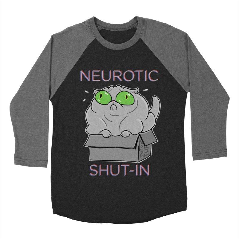 Neurotic Shut-In Women's Baseball Triblend T-Shirt by Frankenstein's Artist Shop