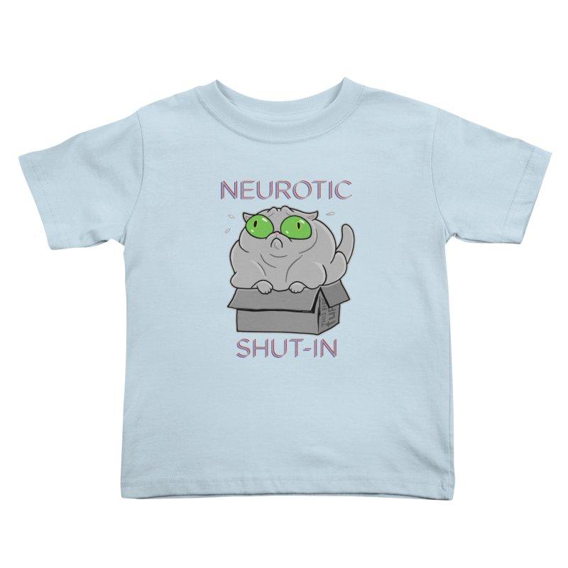 Neurotic Shut-In Kids Toddler T-Shirt by Frankenstein's Artist Shop