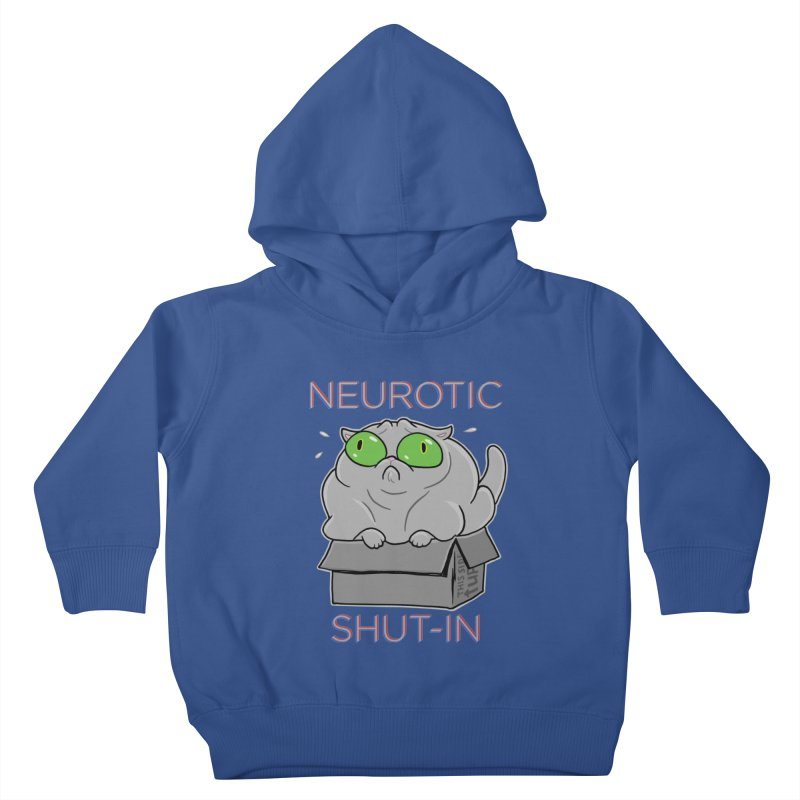 Neurotic Shut-In Kids Toddler Pullover Hoody by Frankenstein's Artist Shop