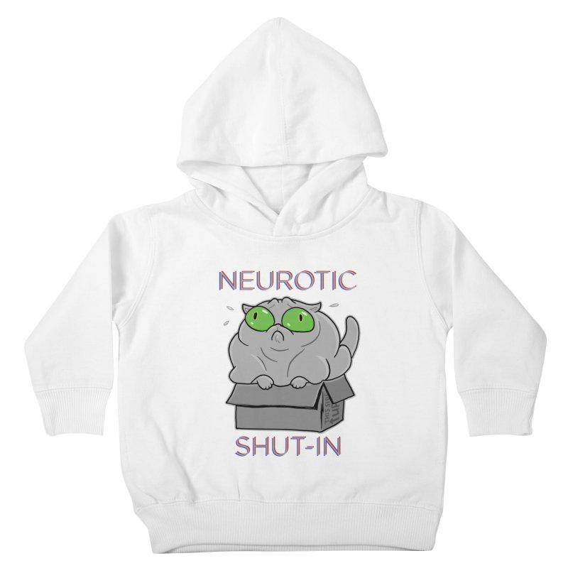 Neurotic Shut-In Kids Toddler Pullover Hoody by Frankenstein's Artist Shop