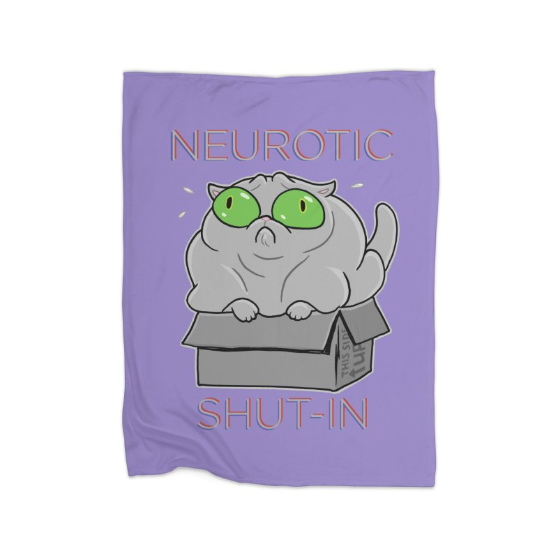 Neurotic Shut-In Home Blanket by Frankenstein's Artist Shop