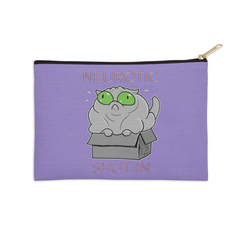 Neurotic Shut-In Accessories Zip Pouch by Frankenstein's Artist Shop