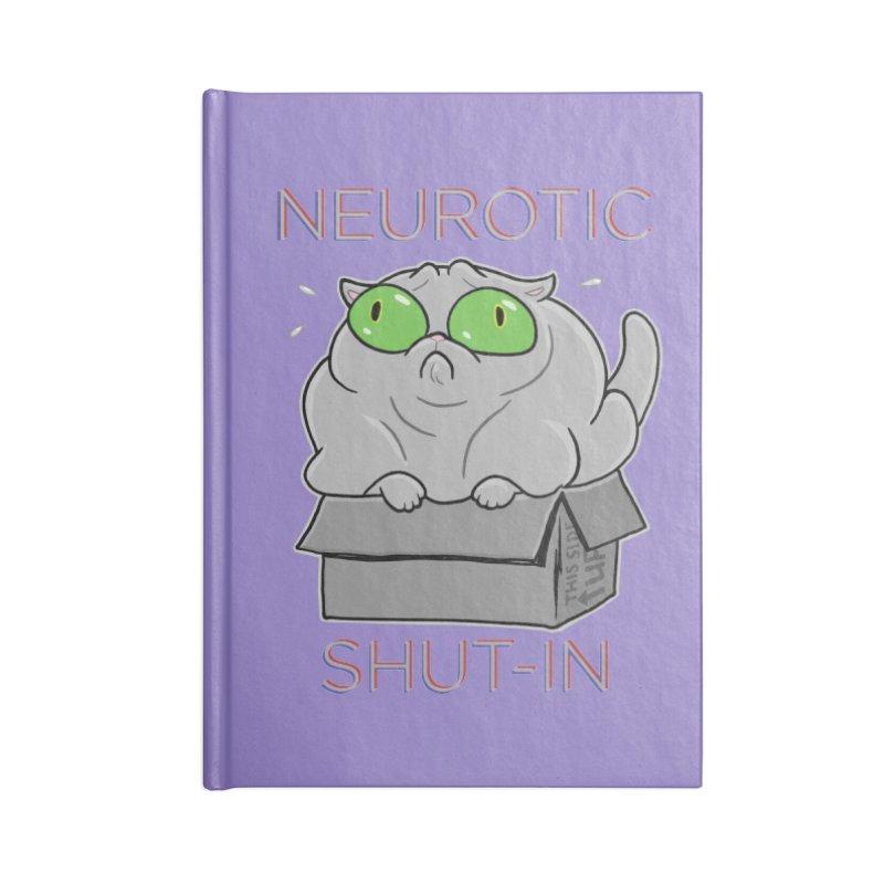 Neurotic Shut-In Accessories Notebook by Frankenstein's Artist Shop