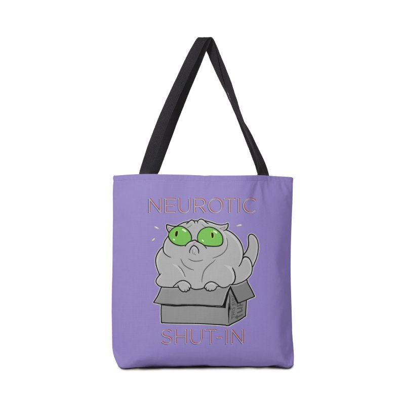 Neurotic Shut-In Accessories Bag by Frankenstein's Artist Shop