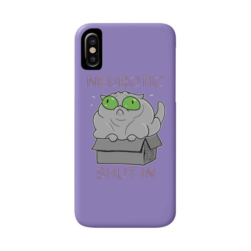 Neurotic Shut-In Accessories Phone Case by Frankenstein's Artist Shop
