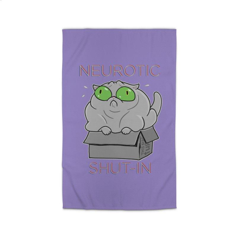 Neurotic Shut-In Home Rug by Frankenstein's Artist Shop