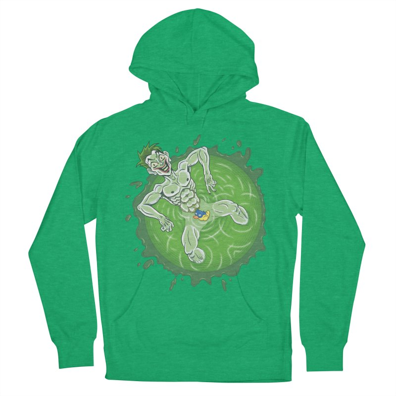 Acid Bath Men's French Terry Pullover Hoody by Frankenstein's Artist Shop