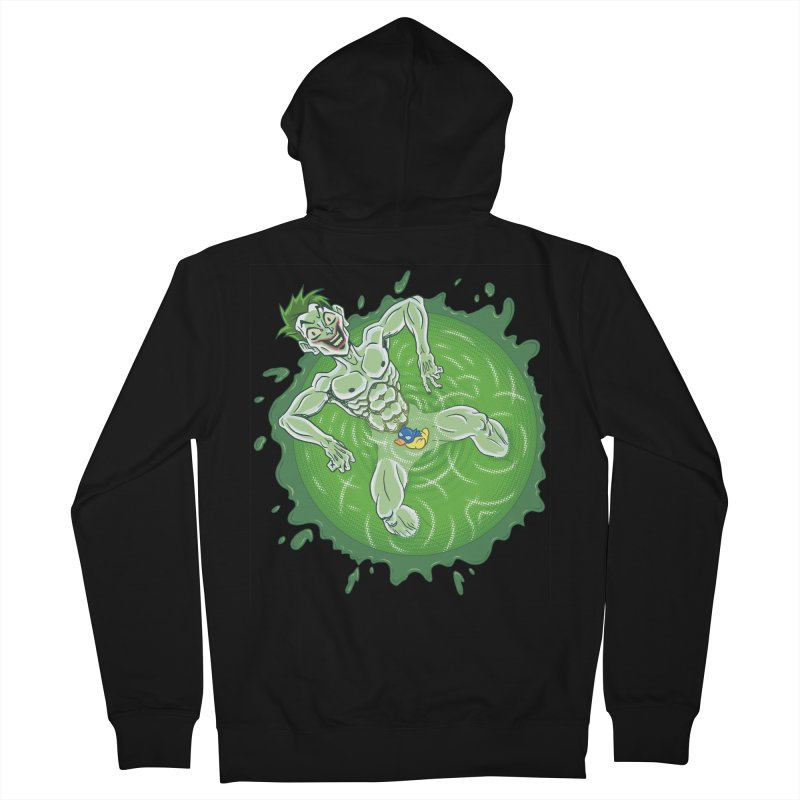Acid Bath Men's French Terry Zip-Up Hoody by Frankenstein's Artist Shop