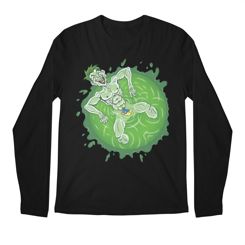 Acid Bath Men's Regular Longsleeve T-Shirt by Frankenstein's Artist Shop