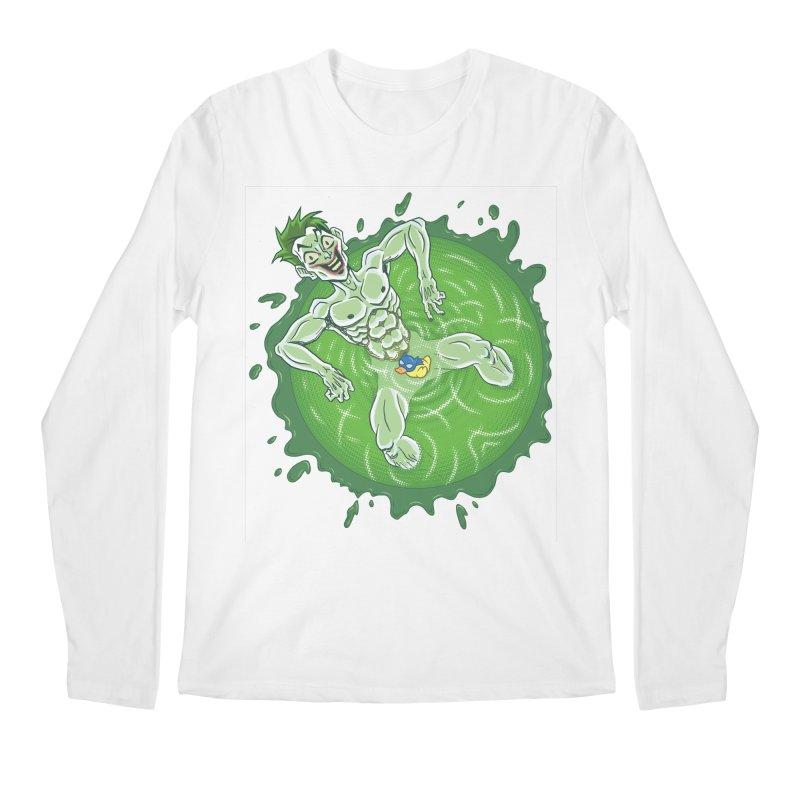 Acid Bath Men's Regular Longsleeve T-Shirt by Frankenstein's Artist Shop