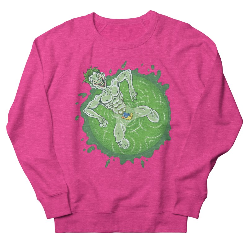 Acid Bath Men's French Terry Sweatshirt by Frankenstein's Artist Shop