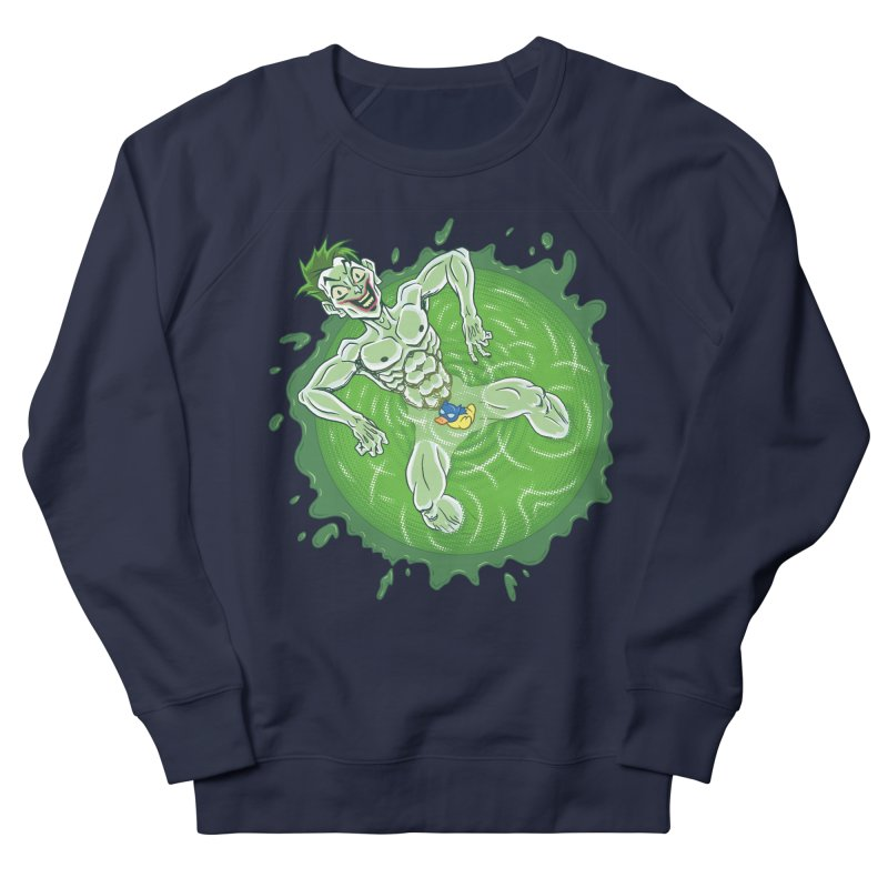 Acid Bath Men's French Terry Sweatshirt by Frankenstein's Artist Shop
