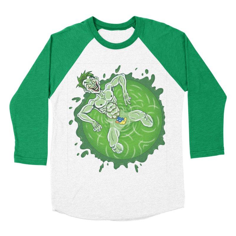 Acid Bath Men's Baseball Triblend T-Shirt by Frankenstein's Artist Shop