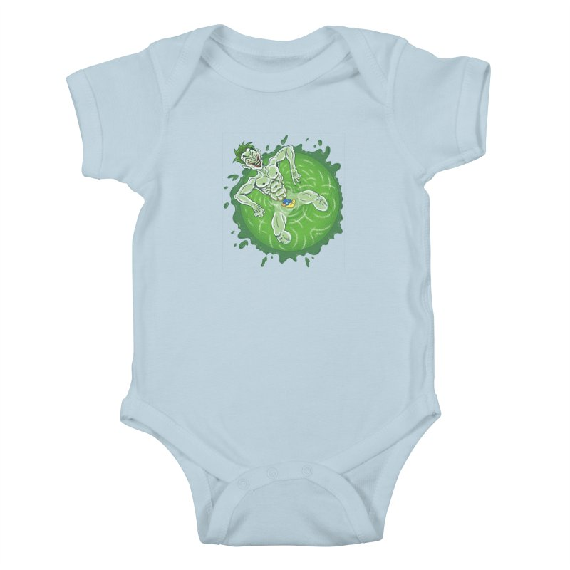 Acid Bath Kids Baby Bodysuit by Frankenstein's Artist Shop