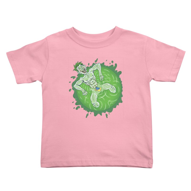 Acid Bath Kids Toddler T-Shirt by Frankenstein's Artist Shop