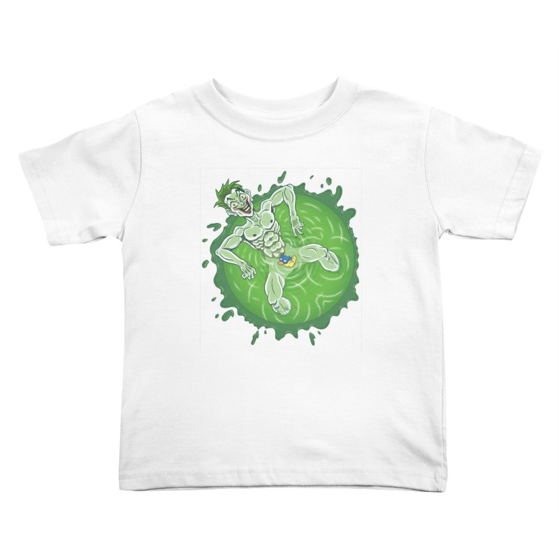 Acid Bath Kids Toddler T-Shirt by Frankenstein's Artist Shop