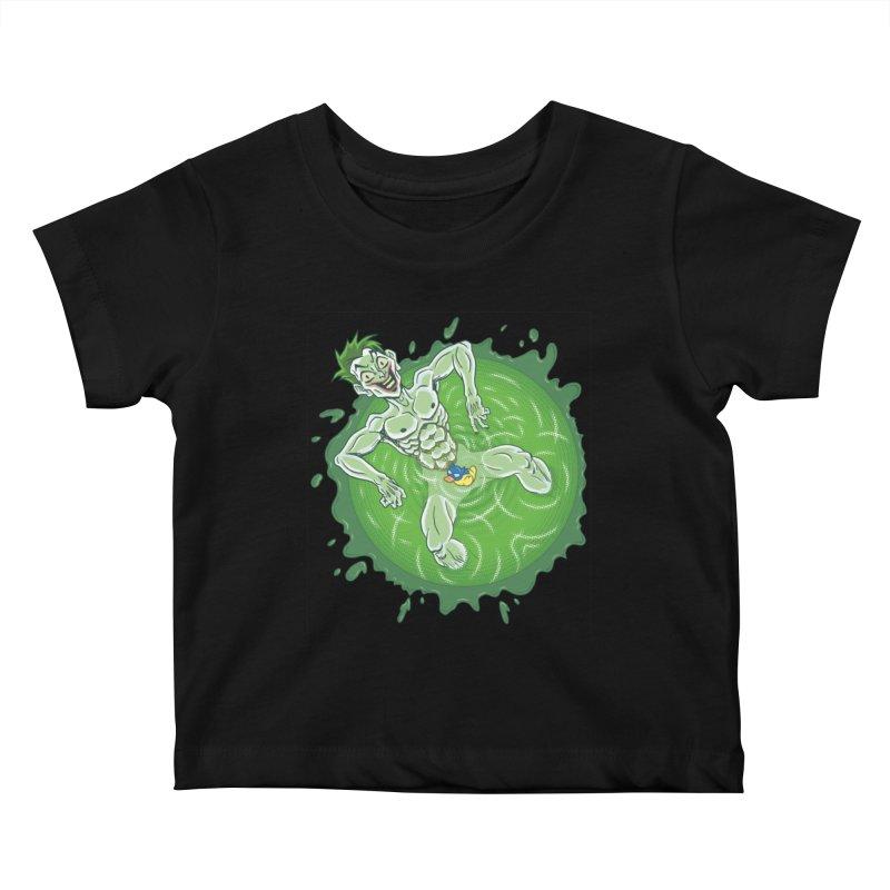 Acid Bath Kids Baby T-Shirt by Frankenstein's Artist Shop