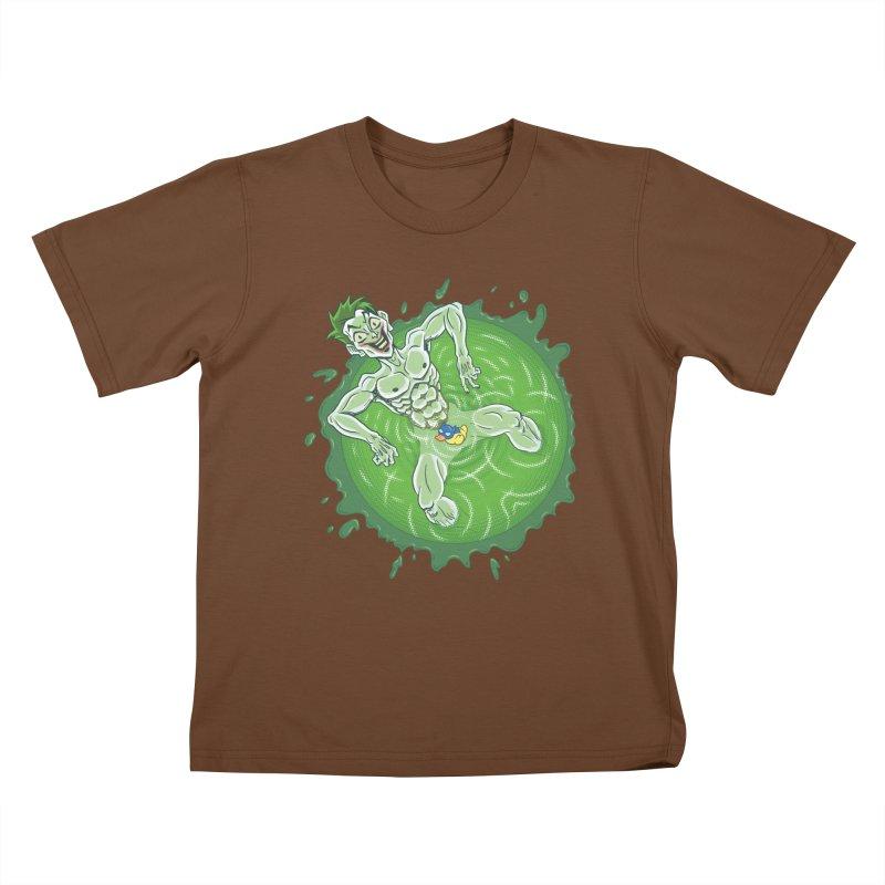Acid Bath Kids T-Shirt by Frankenstein's Artist Shop