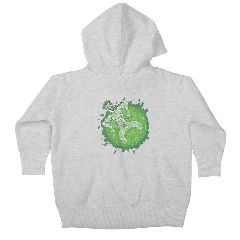 Acid Bath Kids Baby Zip-Up Hoody by Frankenstein's Artist Shop