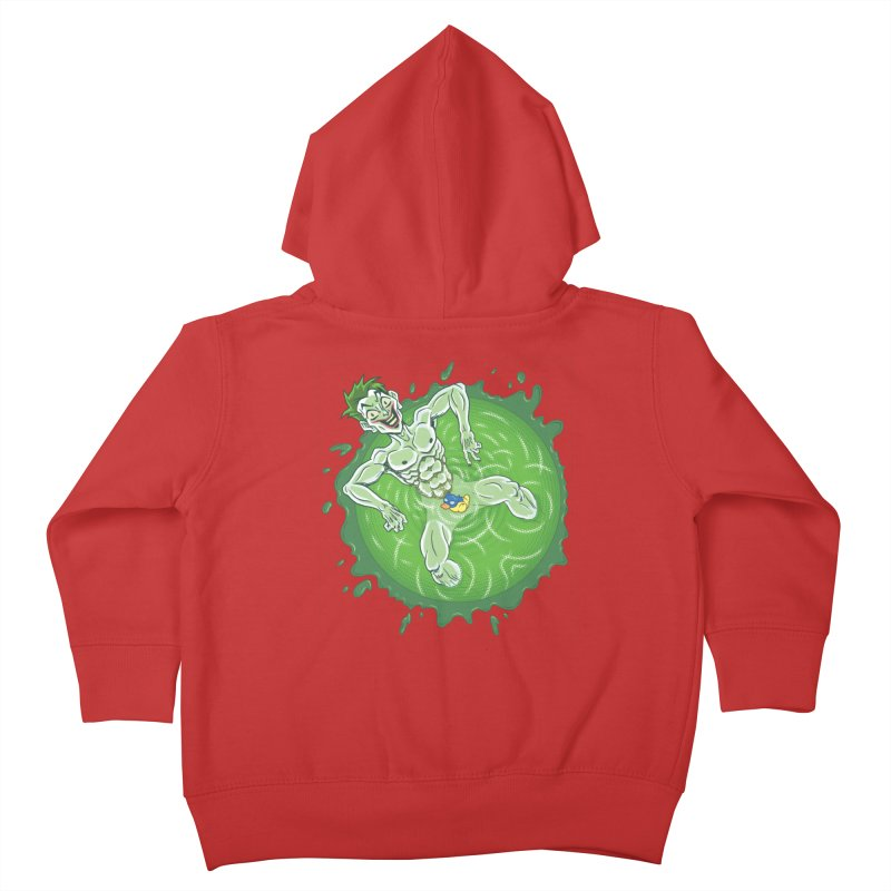 Acid Bath Kids Toddler Zip-Up Hoody by Frankenstein's Artist Shop