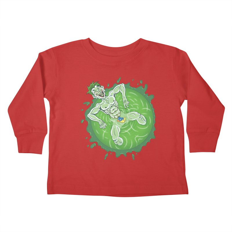 Acid Bath Kids Toddler Longsleeve T-Shirt by Frankenstein's Artist Shop