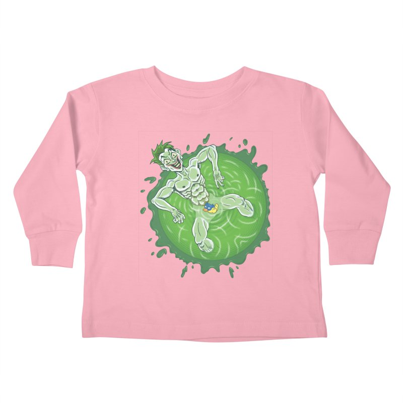 Acid Bath Kids Toddler Longsleeve T-Shirt by Frankenstein's Artist Shop
