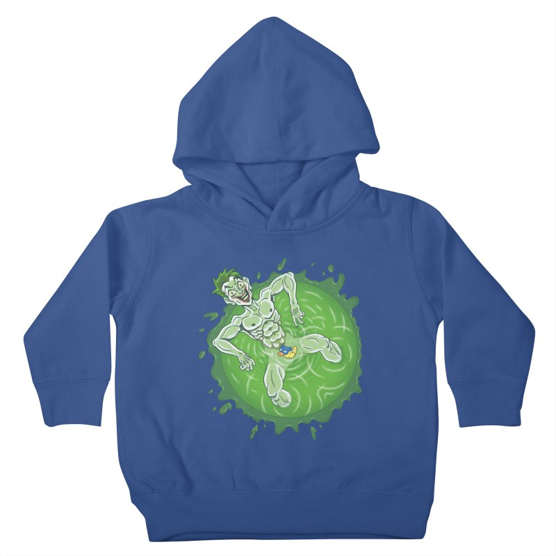 Acid Bath Kids Toddler Pullover Hoody by Frankenstein's Artist Shop