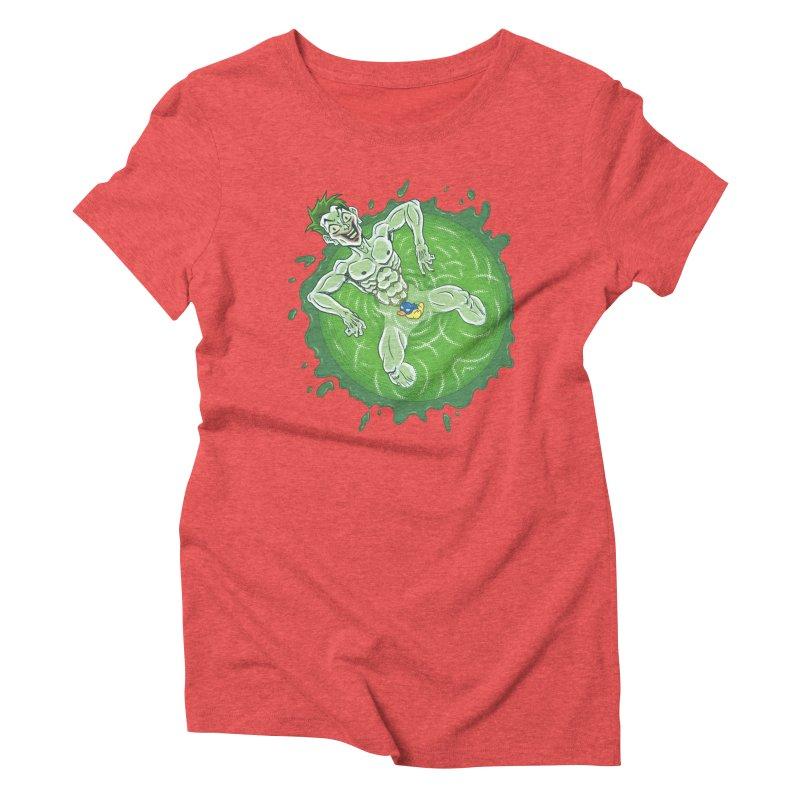 Acid Bath Women's Triblend T-Shirt by Frankenstein's Artist Shop