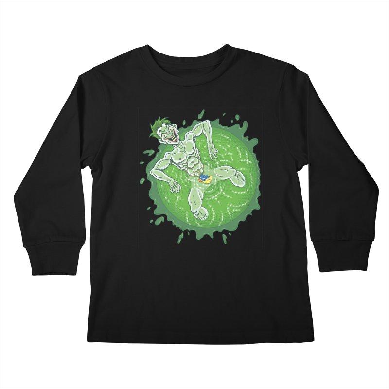 Acid Bath Kids Longsleeve T-Shirt by Frankenstein's Artist Shop