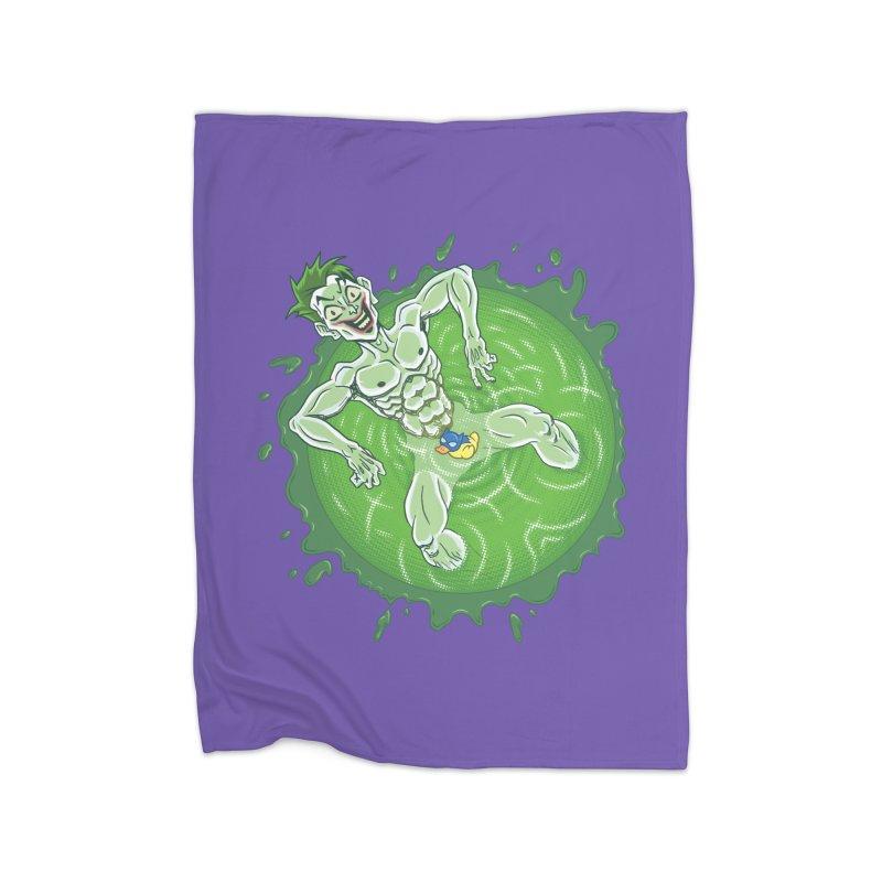 Acid Bath Home Blanket by Frankenstein's Artist Shop