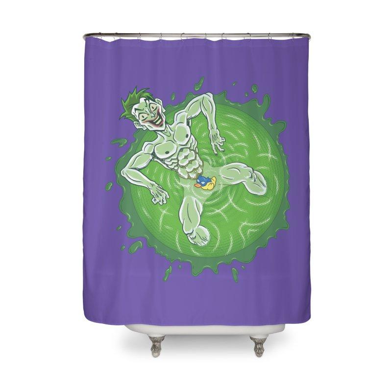 Acid Bath Home Shower Curtain by Frankenstein's Artist Shop