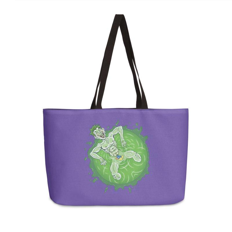 Acid Bath Accessories Weekender Bag Bag by Frankenstein's Artist Shop